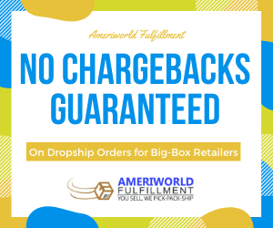 Ameriworld No chargebacks ad
